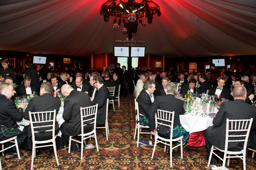 Sportsmans Charity diners at the Annual Dinner